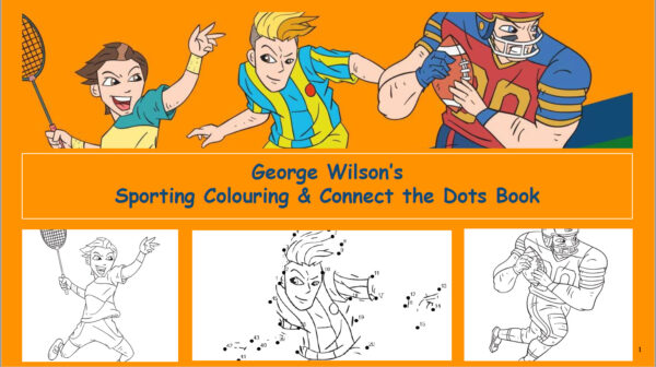 Sporting Colouring Book