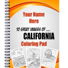 California Colouring Book