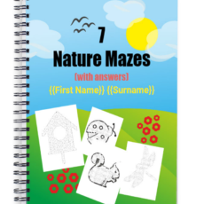 7 Nature Mazes